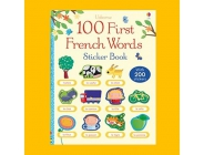 USBORNE 100 FIRST FRENCH WORDS STICKER BOOK