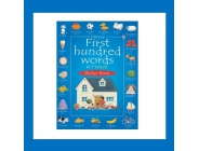 FIRST HUNDRED WORDS IN FRENCH STICKER BOOK USBORNE