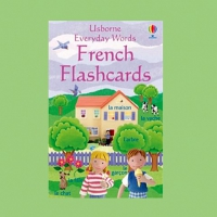 EVERYDAY WORDS FRENCH FLASHCARDS USBORNE