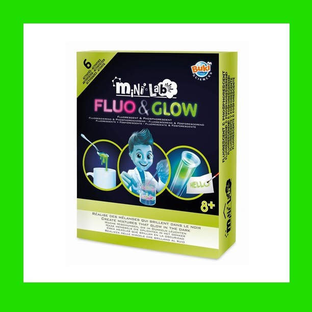 MINI LAB FLUO&GLOW- BUKI