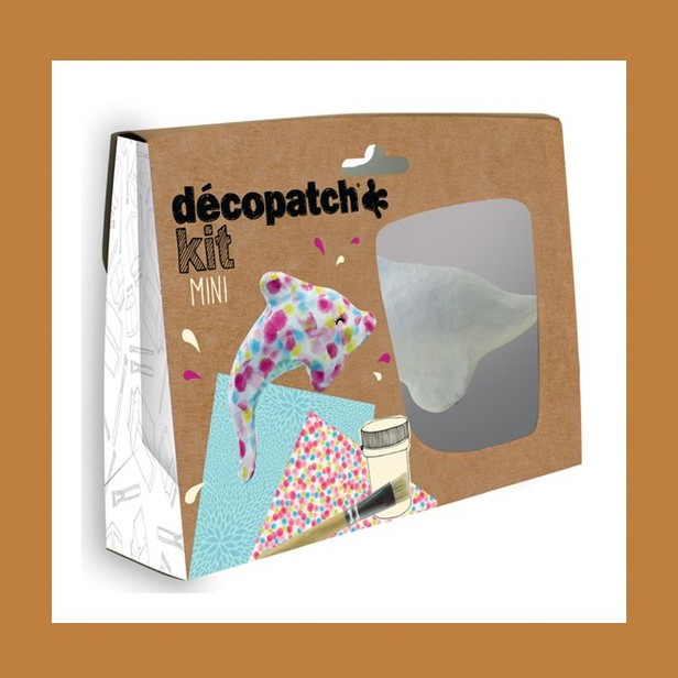 ZESTAW  DO DECOUPAGE DELFIN DECOPATCH
