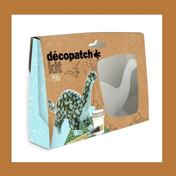 ZESTAW  DO DECOUPAGE DINOZAUR DECOPATCH
