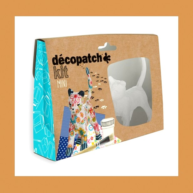 ZESTAW  DO DECOUPAGE KOT DECOPATCH