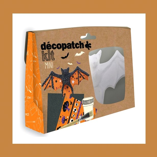 ZESTAW  DO DECOUPAGE NIETOPERZ DECOPATCH
