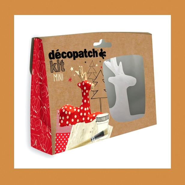 ZESTAW  DO DECOUPAGE RENIFER DECOPATCH