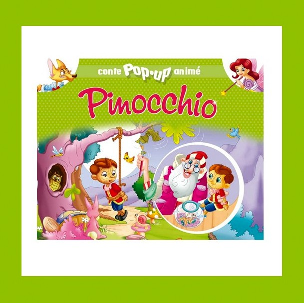 PINOCCHIO CONTE POP-UP ANIME