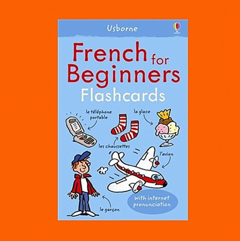 FRENCH FOR BEGINNERS FLASHCARDS USBORNE