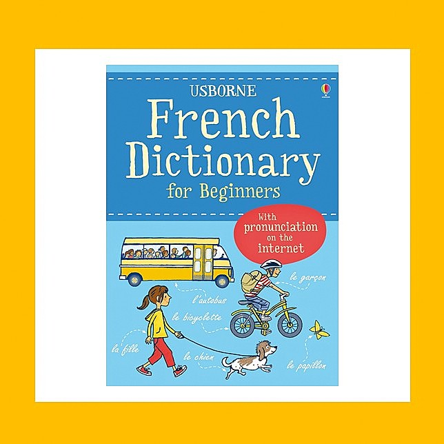 FRENCH DICTIONNARY FOR BEGINNERS  USBORNE